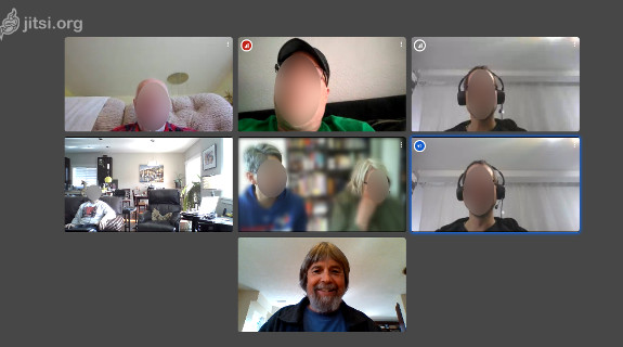 Video Conf with Friends